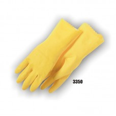 Latex, Flock Lined, 16 Mil, Yellow