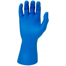 Blue Super Grip Disposable Gloves with Embossed Fish Scale Pattern