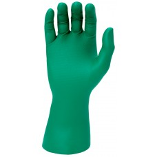Green Super Grip Disposable Gloves with Embossed Fish Scale Pattern