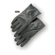 Double-Dipped PVC Glove with Sand Finish and Interlock Liner (Large Only)