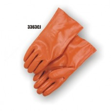 Pvc Dipped, Smooth Finish, Jersey Lined, 12 Inch, Caramel