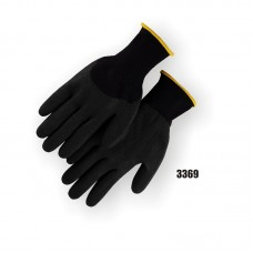 PVC Palm & Knuckle, Black Knit.