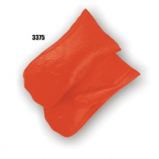 Pvc Dipped, Smooth Finish, Foam Lined, Mitt, Orange