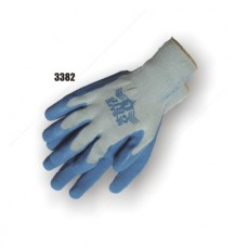 Rubber coated palm, knitted glove, excellent wear and resistance, very flexible