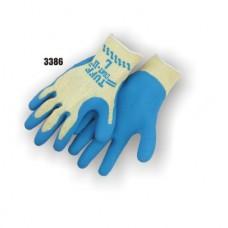 Kevlar Knit, Rubber Palm Dipped, Knit Wrist, Blue/Yellow