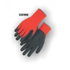 Hi-Vis Orange Knit, Rubber Palm, Excellent Wear and Resistance, Super Fit, Sizes S-XL,No Logo