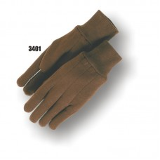Jersey, 8 Ounce, Knit Wrist, Brown