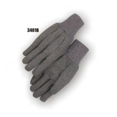 Jersey, 8 Ounce, Knit Wrist, Brown, B Grade, Bulk Pack Retail Insert