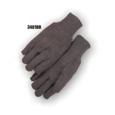 Jersey, 8 Ounce, Knit Wrist, Brown, B Grade, Retail Tagged
