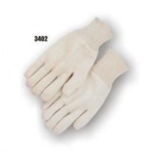 Jersey, 7 Ounce, Knit Wrist, Ambidextrous, White
