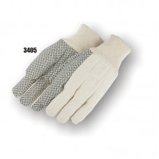 Polyester/Cotton Canvas, 8 Ounce, Pvc Dots, Knit Wrist