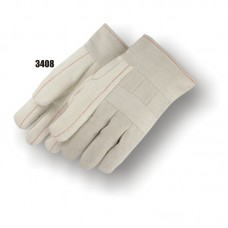 Cotton, 24 Ounce Quilted Palm, 10 Ounce Back, Knuckle Strap, Band Top