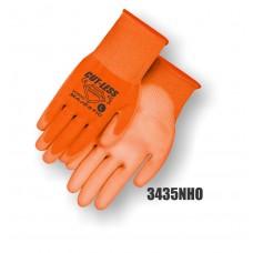 Dyneema, PU palm, High Visibility Orange, Cut Level 3