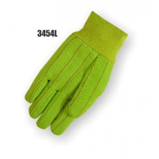 Polyester/Cotton Canvas, 20 Ounce, Knit Wrist, Lime