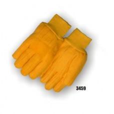 Cotton Chore, Double Woven, 18 Ounce, Knit Wrist, Yellow