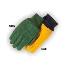 Cotton Chore, Double Woven, 14 Ounce, Knit Wrist, Yellow