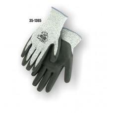 HPPE Cut Resistant Knit, Foam Nitrile Palm Dipped, Color Coded Hem 3
