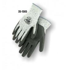 HPPE Cut Resistant Knit, Foam Nitrile Palm Dipped, Color Coded Hem 5
