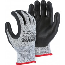 Cut-less Diamond® Cut Resistant Gloves Made With Dyneema®and Foam Nitrile Palm