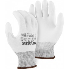 Cut-less Diamond® Cut Resistant Gloves Made With Dyneema®- Gray Polyurethane  Palm Coating