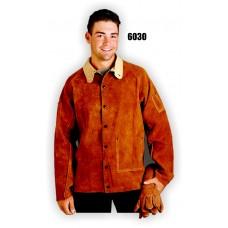 Jacket, Economy Split Cowhide, Kevlar Sewn, 30 Inch