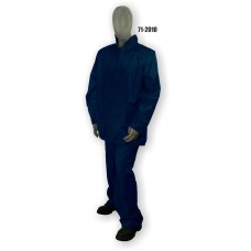 Jacket/Pants Polyester/PVC Coated, Rainsuit. .20mm, Blue