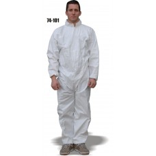 Micro-porous Coverall, Elastic Wrist and Ankles, Breathable