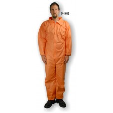 ComforTEX, Micro Porous Coverall, Orange, Elastic Wrists and Ankles