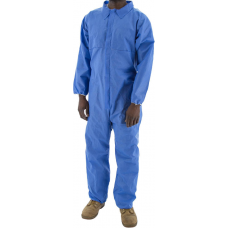 74-201F BlazeTEX FR SMS Anti-Static Coverall with Elastic Wrist & Ankle