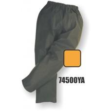 M-Safe PU Rainwear, Flexible Waist Pant, Snap Ankle, Yellow