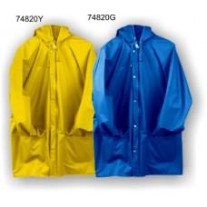 4820, Flexothane Jacket W/ Hood, Yellow