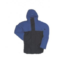 4899, Flexothane Jacket, Lined, With Hood, Navy/Blue