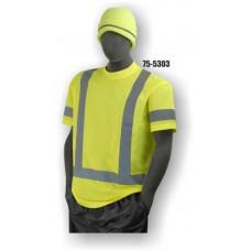Hi-Vis Yellow T-Shirt. ANSI / ISEA 107-2010 Class 3 compliant