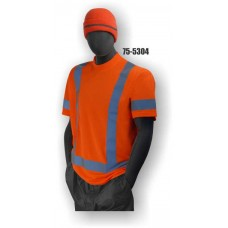 Hi-Vis Orange T-Shirt. ANSI / ISEA 107-2010 Class 3 compliant