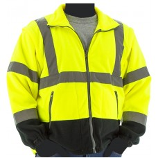 High Visibility Fleece Jacket and Liner, ANSI 3, Type R