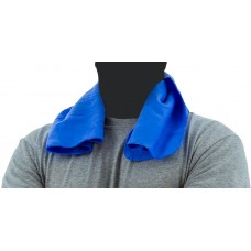 Blue Evaporative Cooling Towel