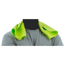 High Visibility Yellow Evaporative Cooling Towel