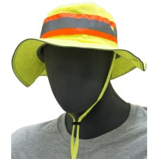 High Visibility Brim Hat (Size Small)
