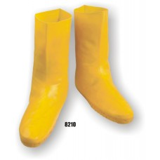 Rubber Boot, Hazmat, Overshoe, Yellow