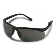 Centerfire Readers Safety Glasses, Smoke Lens, +1.5, 2.0 & +2.5