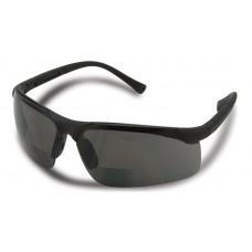 Centerfire Readers Safety Glasses, Smoke Lens, +1.5, 2.0 & +2.5