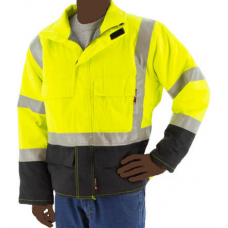 91217Y BlazeTEX Flame Resistant High Visibility Insulated Field Coat