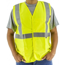 95697Y BlazeTex FR High Visibility Class 2 Woven Safety Vest