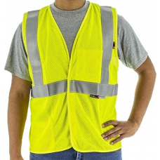 95896Y BlazeTEX FR Deluxe Mesh High Visibility Class 2 Safety Vest