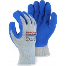 A4S85N Powercut with Alycor Cut & Puncture Resistant Glove with Latex Palm Coating