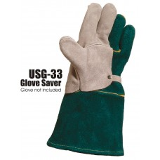 Glove Saver, Split Cowhide, Left Hand