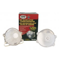 N95 Valved Active Carbon Respirator (Box of 10)