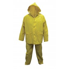 Heavy-Duty PVC/Polyester Rain Suit