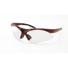 DIAMONDBACK Eyewear - Clear Lens, Red Frame w Polybag