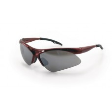 DIAMONDBACK Eyewear - Smoke Mirror Lens, Red Frame w Polybag